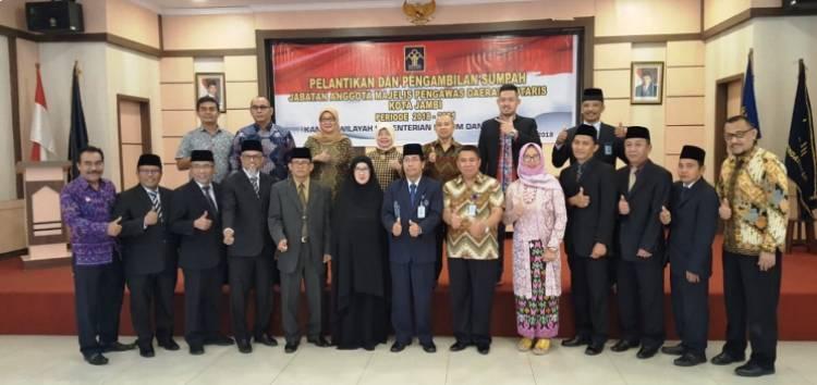 Kakanwil Lantik 9 Majelis Pengawas Daerah Notaris Kota Jambi