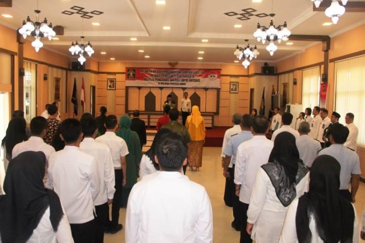 Pelantikan Notaris dan Anggota MPD oleh Kakanwil Kemenkumham Jambi